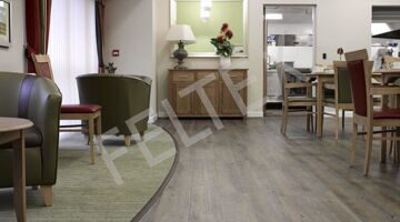 GERFLOR Creation 70 Clic System 0359 (Wild Oak) CARE HOME EASTFIELD DRIVE install 4